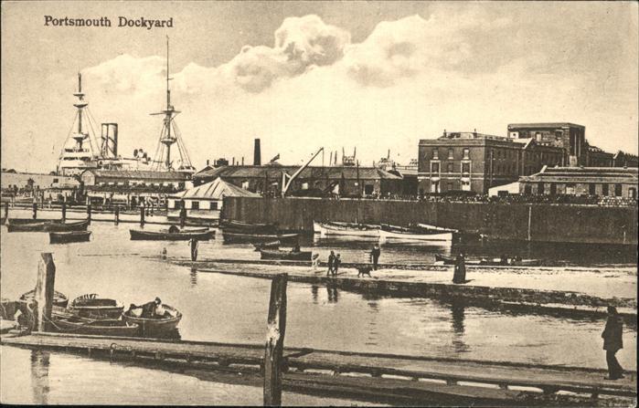 Portsmouth Dockyard Kat. Portsmouth