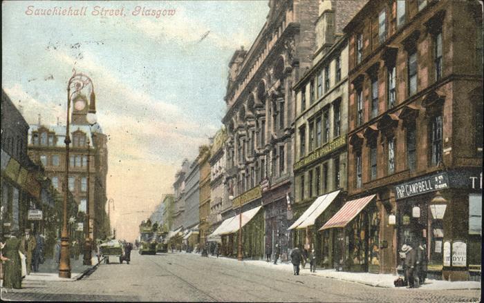 Glasgow Sauchichall Street Kat. Glasgow City