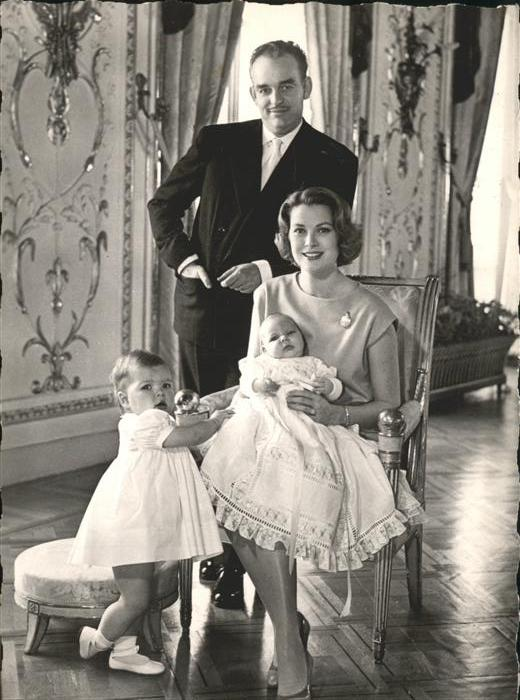Monte-Carlo Prince Rainer Princesse Grace Princ Albert Princesse Caroline Kat. Monte-Carlo