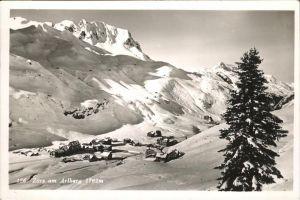 Zuers Arlberg Winter Schnee Kat. Lech