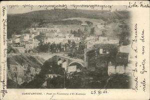 Constantine Pont Faubourg El Kantara