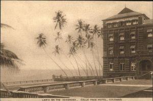 Colombo Ceylon Sri Lanka Galle Face Hotel  / Colombo /