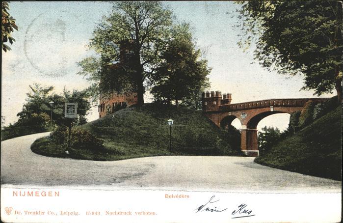 Nijmegen Belvedere Kat. Nijmegen