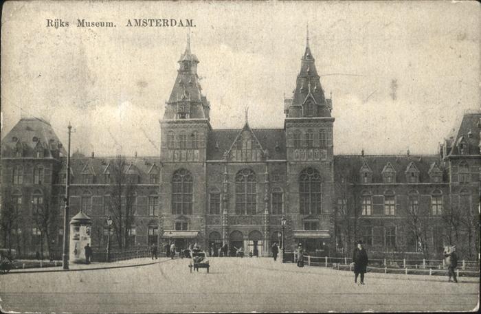 Amsterdam Rijks Museum Kat. Amsterdam