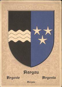 Aargau Kanton Wappen / Aarau /Bz. Aarau