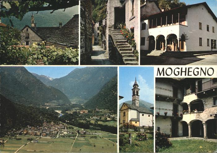 Moghegno Vallemaggia Valle Maggia Kat. Moghegno