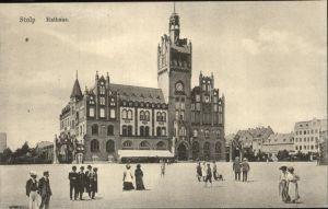 Stolp Pommern Rathaus Kat. Slupsk