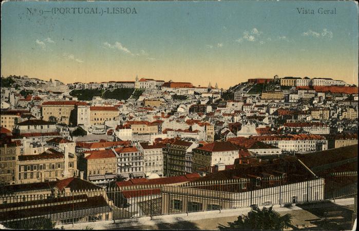 Lisboa Portugal Vista Geral