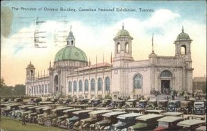 Ontario Canada Province Ontario Building National Exhibition Toronto