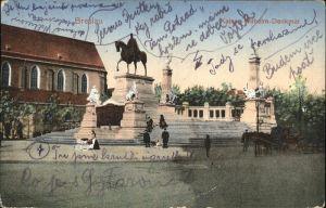wz42685 Breslau Niederschlesien Kaiser Wilhelm Denkmal Kutsche Kategorie. Wroclaw Alte Ansichtskarten