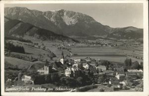 Puchberg Schneeberg Panorama Kat. Puchberg am Schneeberg