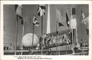 New York City World's Fair Bridge of Wings / New York /