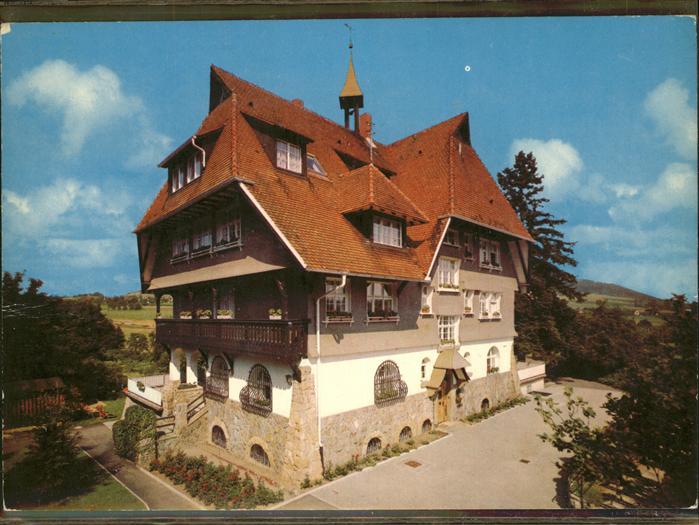 Wittnau Breisgau Kurheim Stoeckenhoefe / Wittnau /Breisgau-Hochschwarzwald LKR