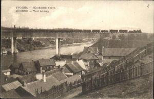wz49046 Grodno Most zelazny Feldpost