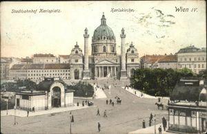 Wien Stadtbahnhof Karlsplatz Kat. Wien