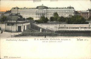 Wien Stadtnahnhof Karlsplatz Kat. Wien