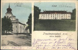 Trautmannsdorf Oststeiermark Schloss Kirche Kat. Trautmannsdorf in Oststeiermark