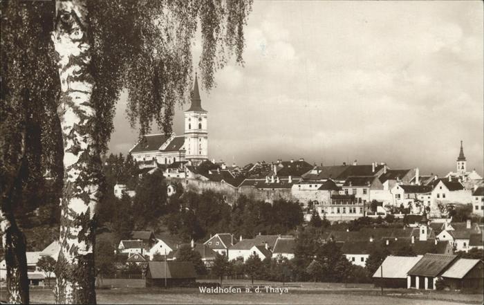 Waidhofen Thaya Stadt Kat. Waidhofen an der Thaya 0