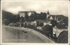 Grein Donau Oberoesterreich Sturdengau / Grein /Muehlviertel