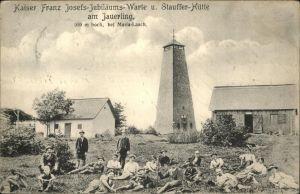 Jauerling Kaiser Franz Josef Jubilaeums Warte Stauffer Huette Kat. Maria Laach am Jauerling