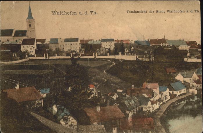 Waidhofen Thaya  Kat. Waidhofen an der Thaya 0