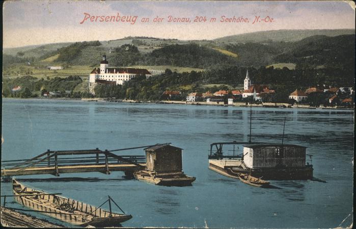 Persenbeug-Gottsdorf Donau  Kat. Persenbeug-Gottsdorf