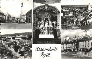 Eisenstadt Hadnkirche Gnadenaltar Schloss Estarhazy Hauptplatz Kat. Eisenstadt