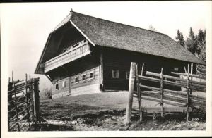 Rosegg Roseggers Geburtshaus Alp Kat. Rosegg