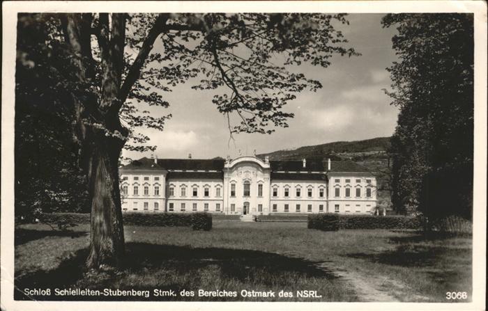 Stubenberg Steiermark Schloss Schielleiten Stubenberk  Kat. Stubenberg