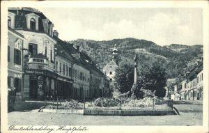 Deutschlandsberg Hauptplatz Kat. Deutschlandsberg