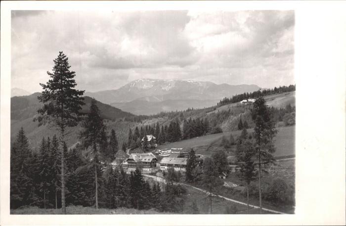Rosegg Alpengasthof Bruggraber Alpl Kat. Rosegg