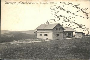 Rosegg Alpenhaus Pretulalpe Kat. Rosegg
