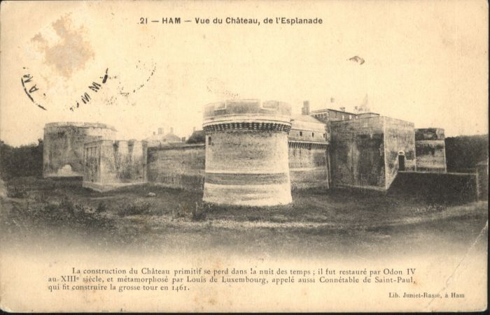Ham Somme Ham Chateau Esplanade x / Ham /Arrond. de Peronne