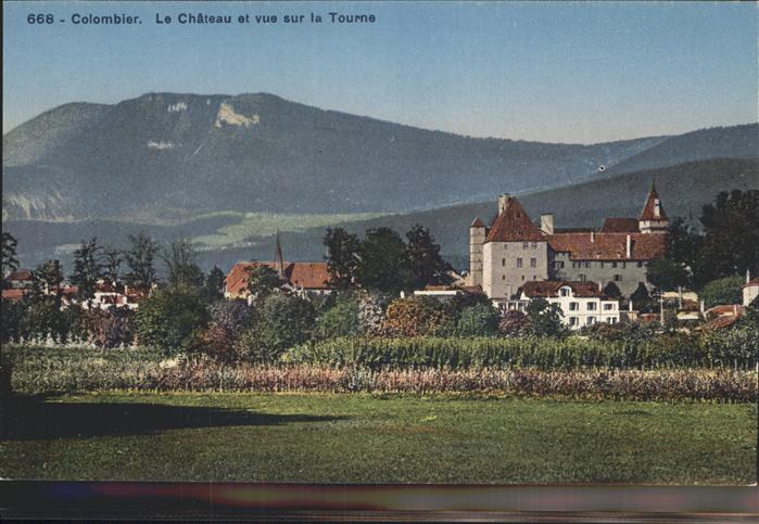 Colombier NE Le Chateau / Colombier NE /Bz. Boudry
