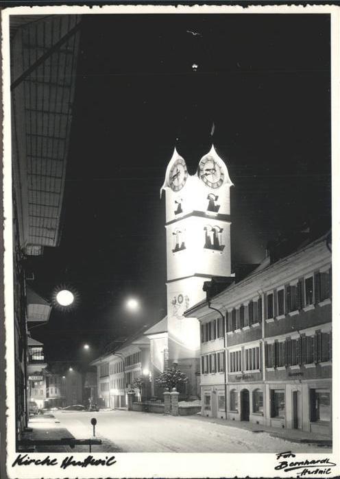 Huttwil Kirche Kat. Huttwil