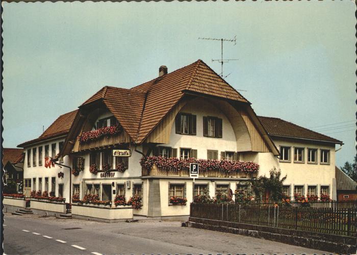 Bettenhausen Landgasthof Roessli Kat. Bettenhausen