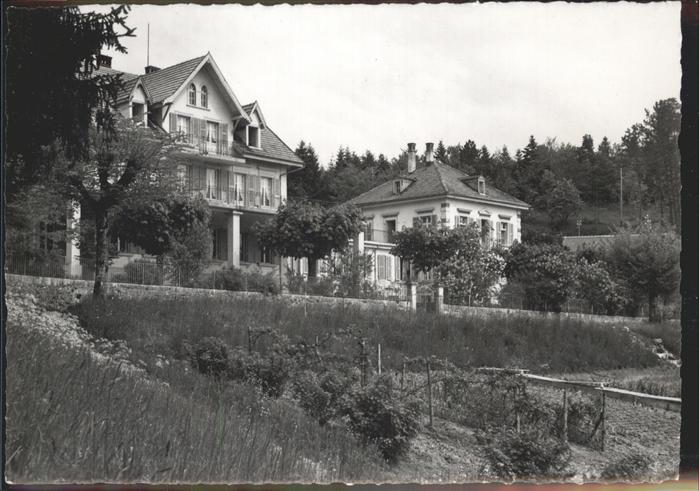 Evilard Leubringen Schwesternheim des Roten Kreuzes Kat. Evilard