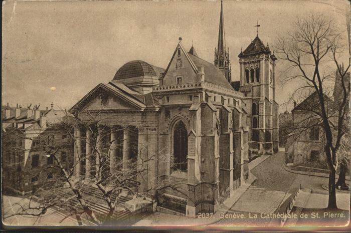 Geneve GE La Cathedrale de St. Pierre Kat. Geneve