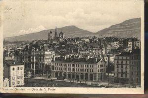 Geneve GE Quai de la Poste Kat. Geneve