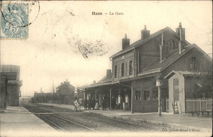 Ham Gare Bahnhof x