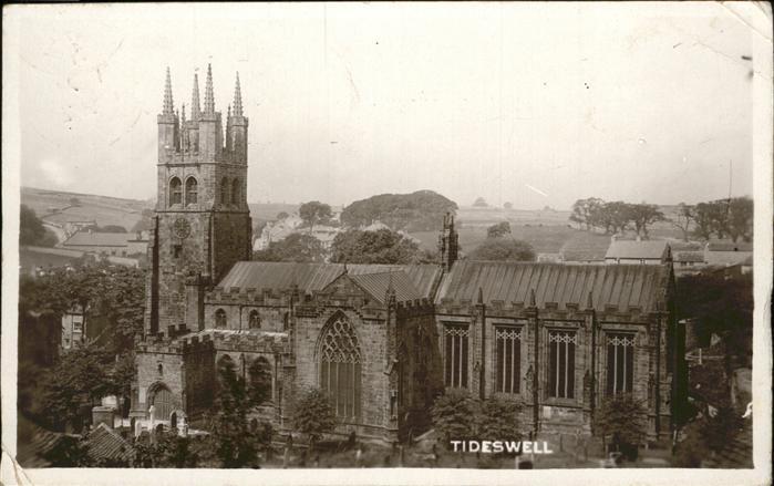 Tideswell Church Kat. Derbyshire Dales
