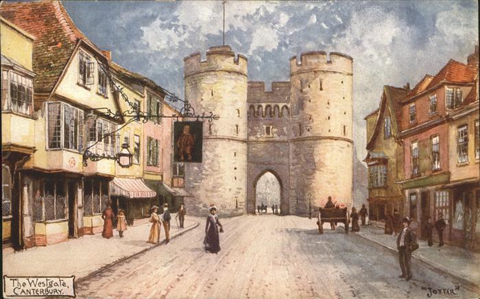 Canterbury The Westgate Kat. Canterbury