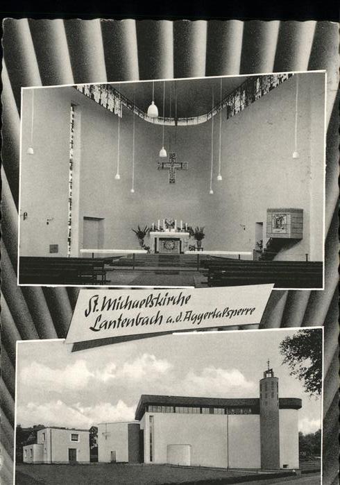 Lantenbach St. Michaelskirche / Gummersbach /Oberbergischer Kreis LKR