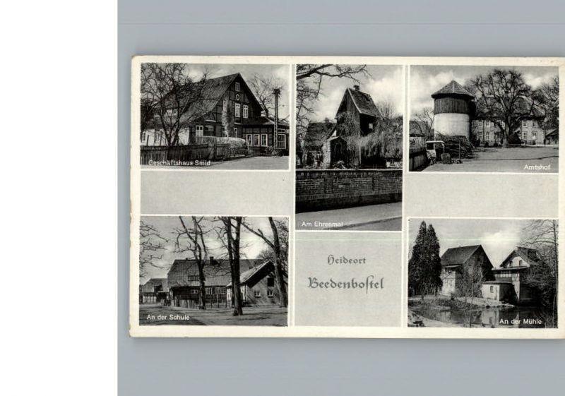 Beedenbostel Geschaeftshaus Smid / Beedenbostel /Celle LKR