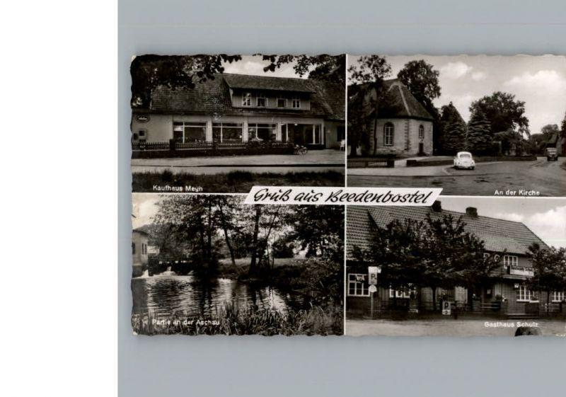 Beedenbostel Kaufhaus Meyn / Beedenbostel /Celle LKR