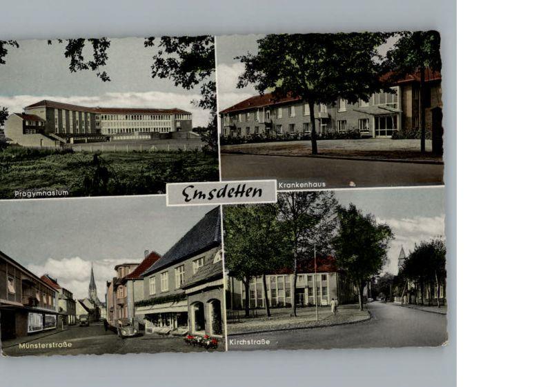 Emsdetten Krankenhaus, Muensterstr., Kirchstr. / Emsdetten /Steinfurt LKR