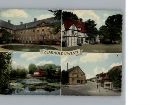 Clarholz Ortsansicht / Herzebrock-Clarholz /Guetersloh LKR