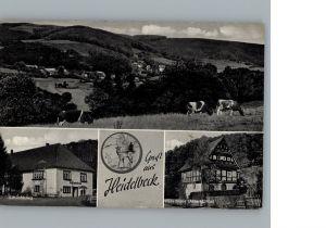 Heidelbeck Ortsansicht / Kalletal /Lippe LKR