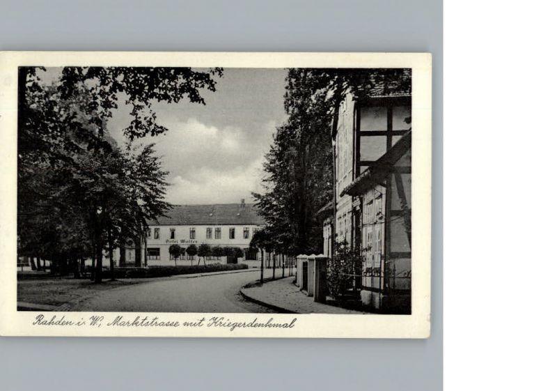 Rahden Westfalen Strasse / Rahden /Minden-Luebbecke LKR