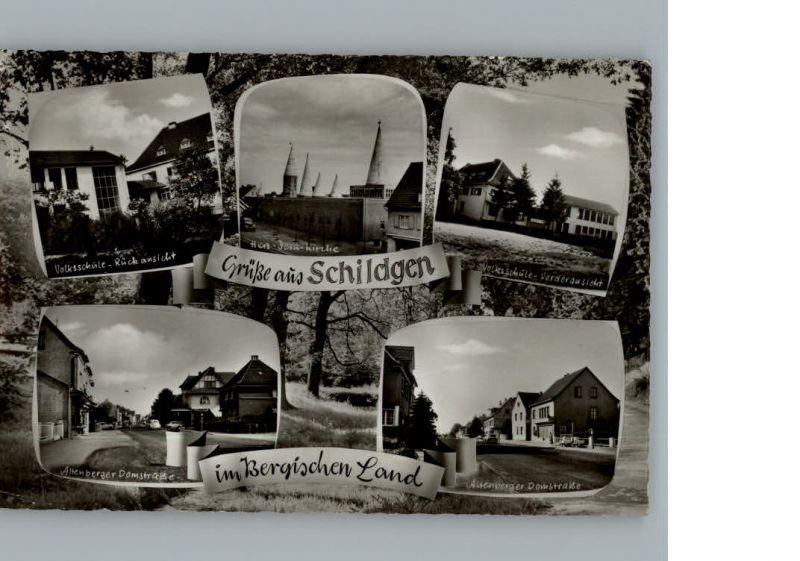 5060 Bergisch Gladbach Schildgen Herz Jesu Kirche St